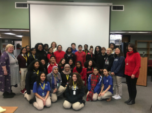 The MRHS Battle of the Books teams competed against PCTI on January 30th
