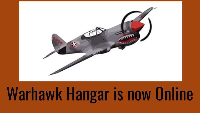 Warhawk hanger is now open online