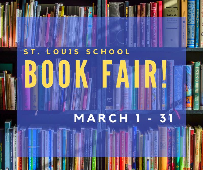 Book Fair! March 1-31 Featured Photo