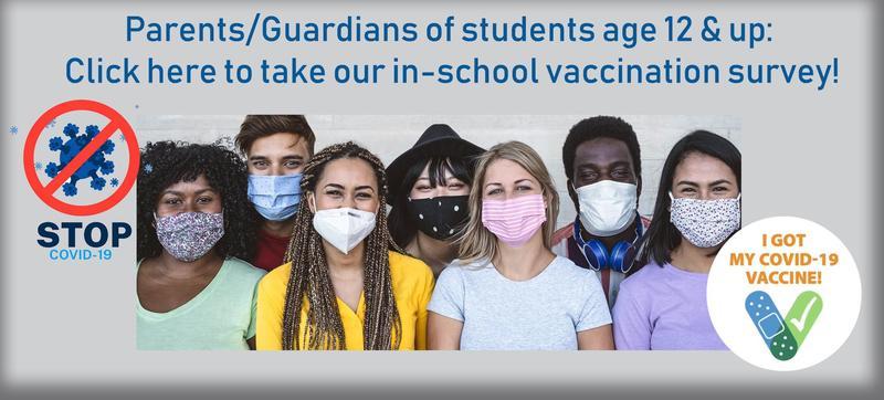 Student Vaccination Survey / Encuesta de vacunación de estudiantes Featured Photo