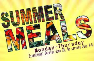 Free, Healthy Summer Meals
