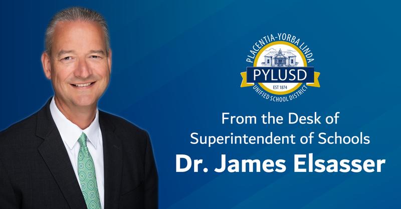 Superintendent of Schools Dr. James Elsasser.