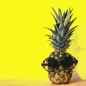 Summer Camp pineapple logo