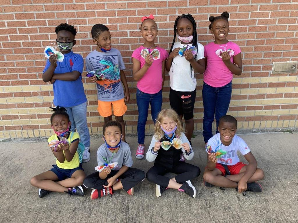 2nd Grade-Butterfly Art Project
