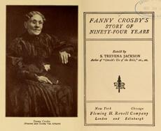 Fanny Crosby tweet on her 200th birthday
