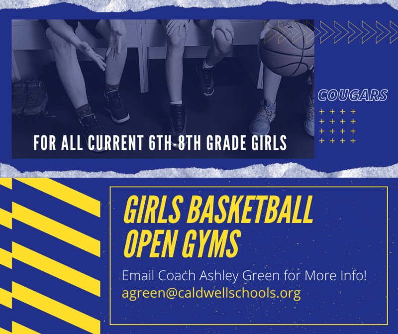 Middle School Girls Basketball Open Gyms! Thumbnail Image