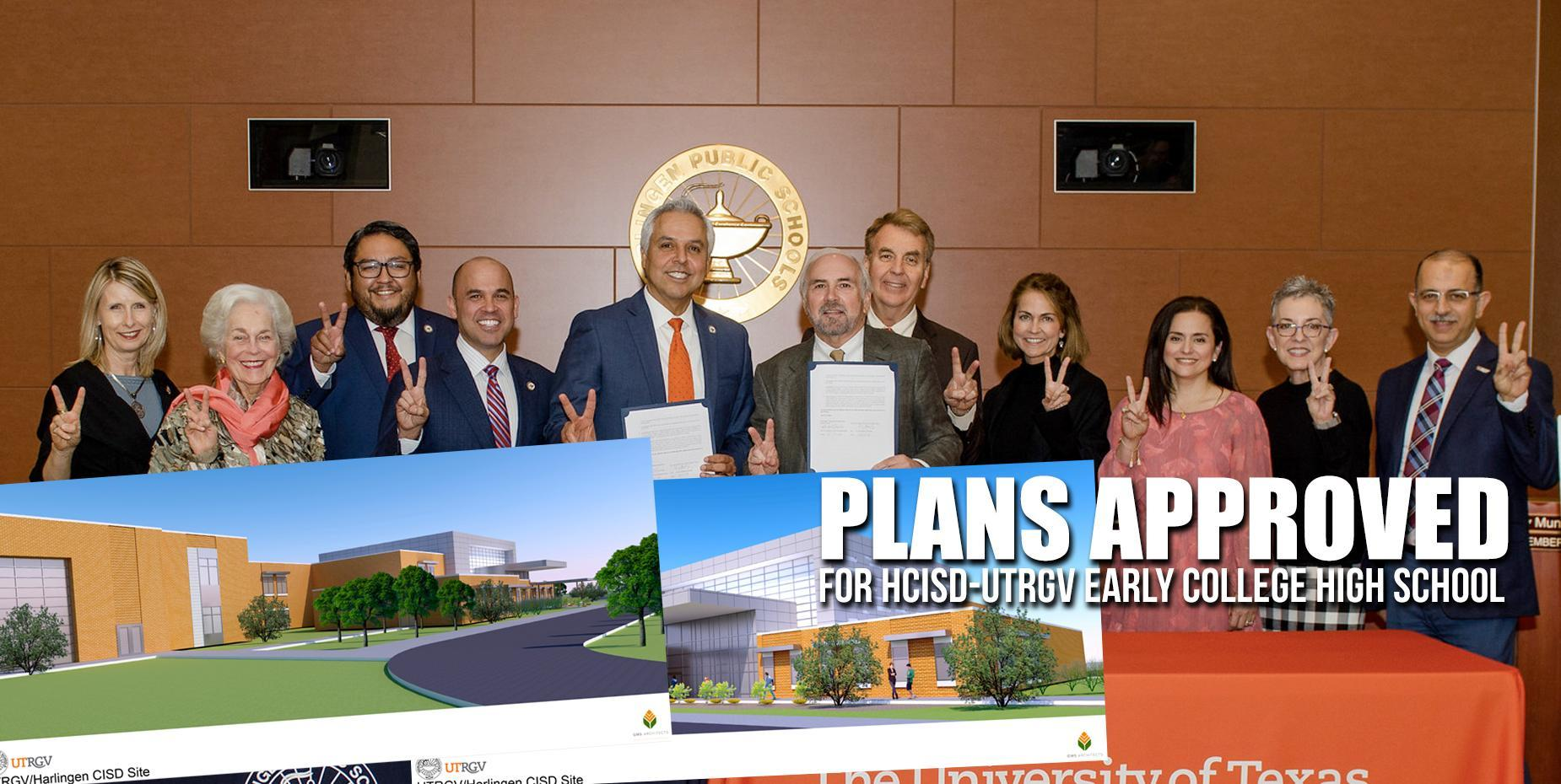Plans approved for HCISD-UTRGV Early College High School