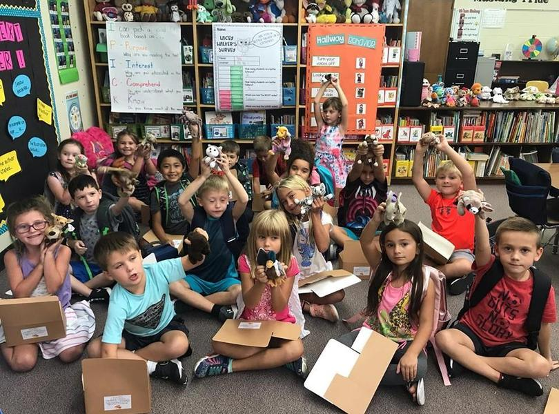 First grade adopted reading pets!!