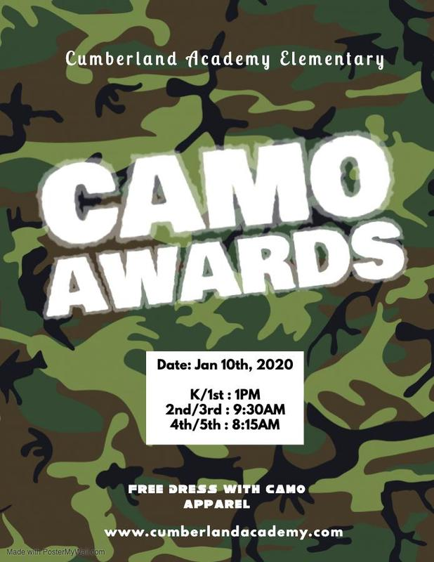 Camo Awards Assembly Featured Photo