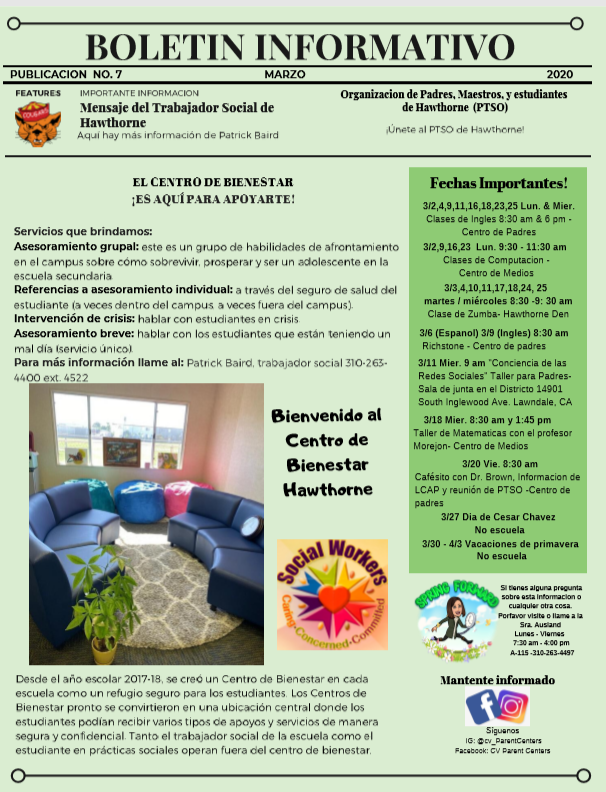 March Newsletter Span