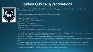Student Covid Vaccinations
