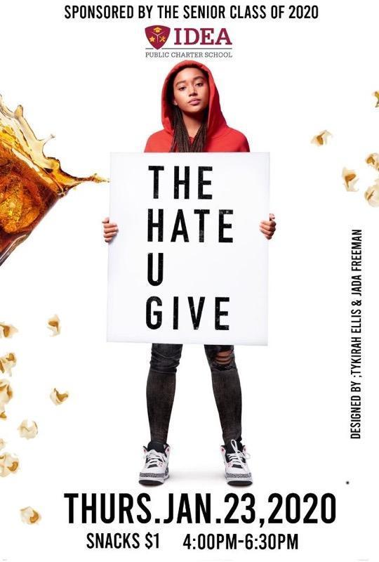Scholars Invited to Movie Night Featuring The Hate You Give Thumbnail Image