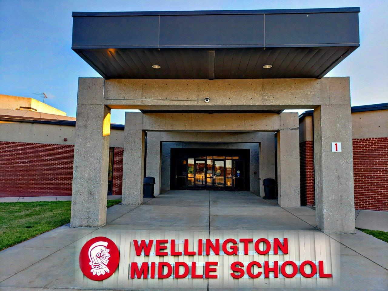 Wellington Middle School Entrance