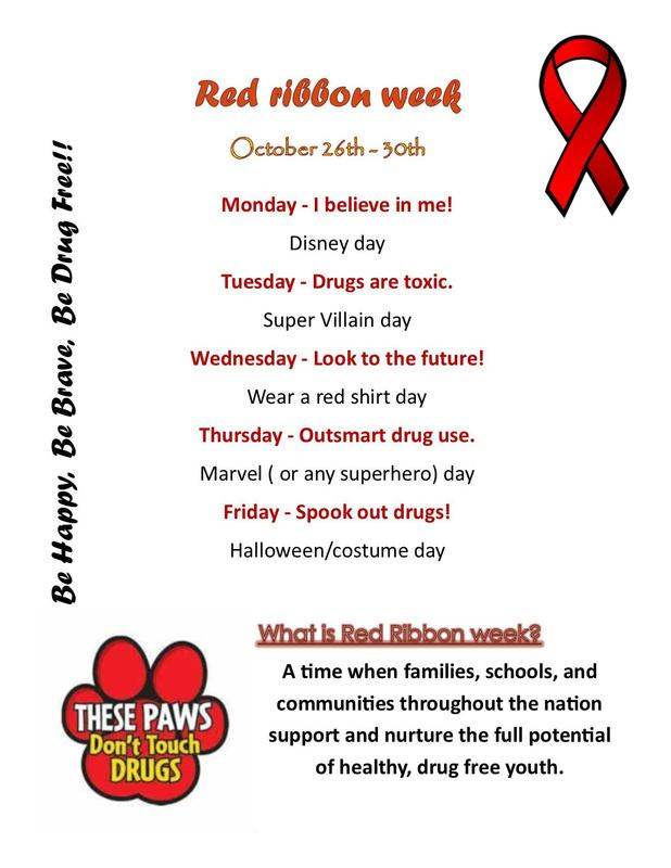 **Red Ribbon Week!** Featured Photo