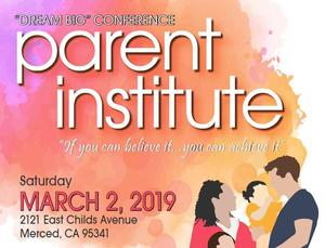 Parent Institute Flyer