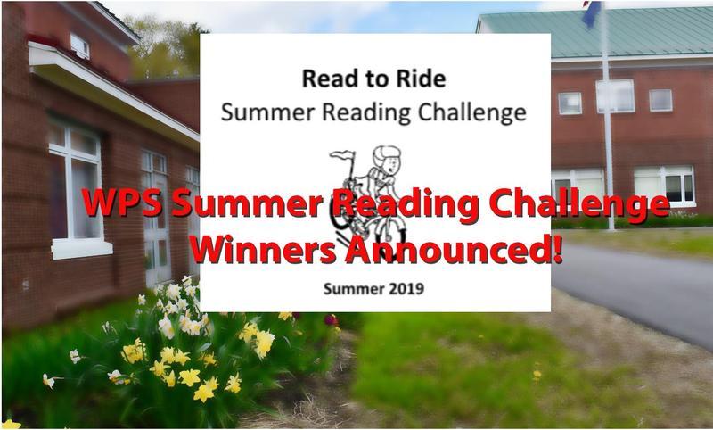 WPS Reading Challenge Winners Announced
