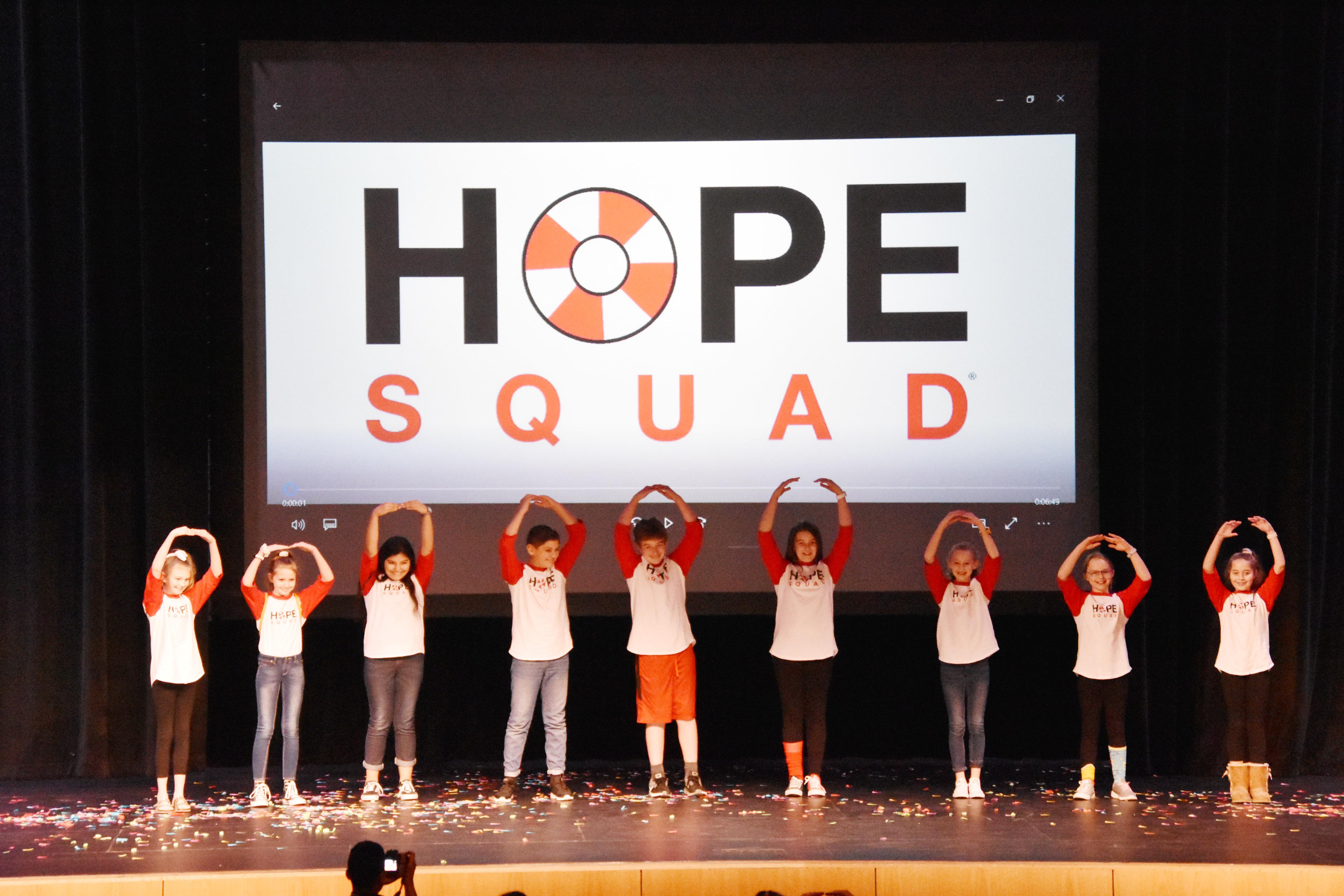 Fine Arts Academy HOPE Squad performs