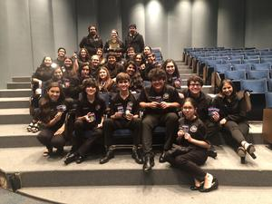 Pictured are the MHS Encore Theatre One Act Play Team members and directors.