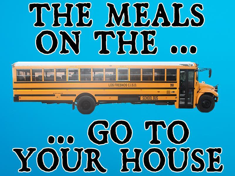 Bus meal graphic
