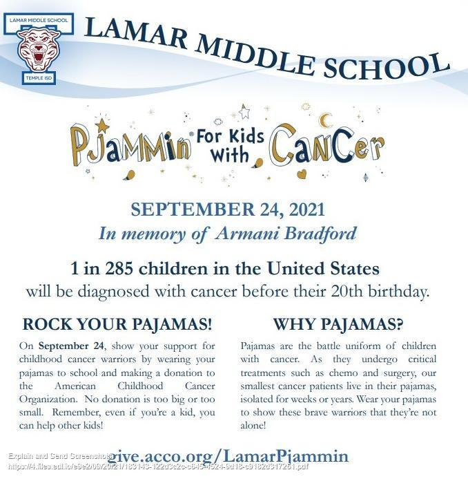PJammin for kids with Cancer- THIS FRIDAY Featured Photo