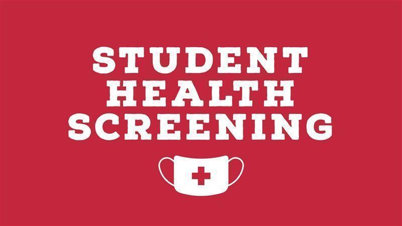 Student Health Screening Banner