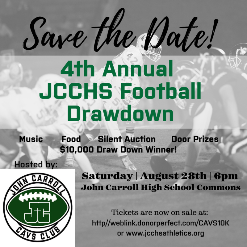 The 4th Annual JCCHS Football Draw Down! Featured Photo