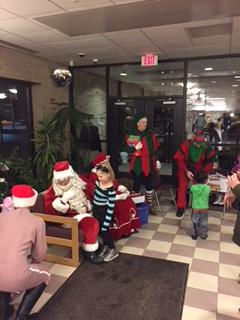 Santa's Visit to The RCCC