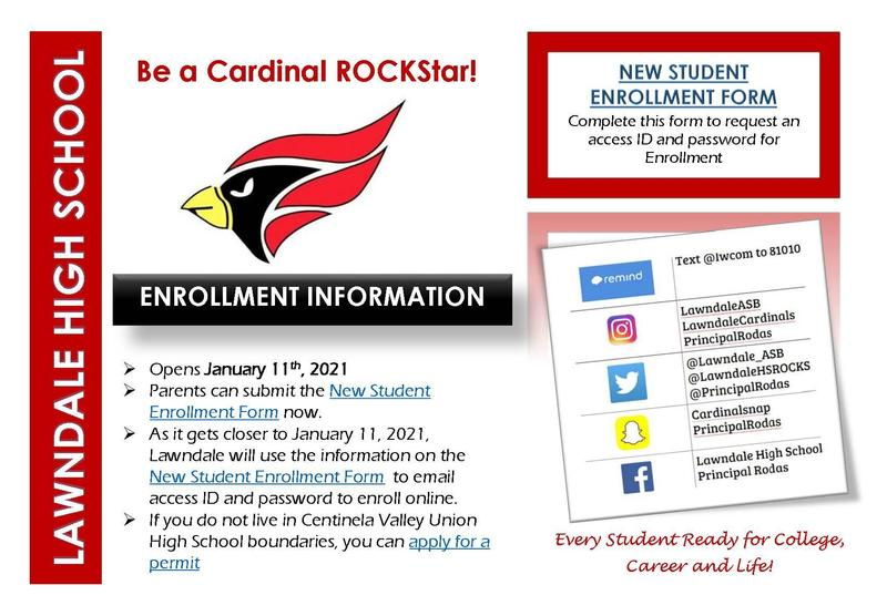 Incoming 9th Grade Enrollment Featured Photo