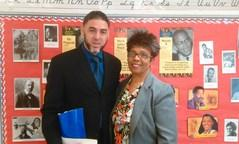 BHM-Mrs. Ventress and Pastor Caleb Semien