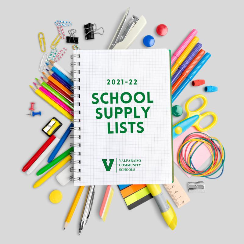 2021-22 school supply lists