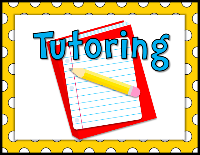 Afterschool Tutoring Mondays and Tuesdays Featured Photo