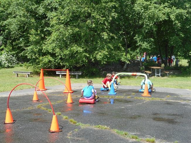 Car Wash Station at Field Day