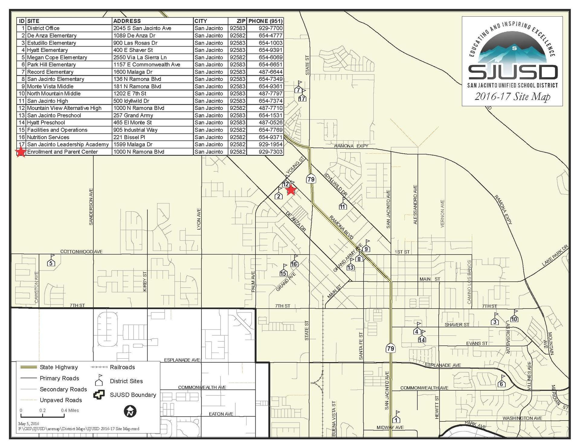 SJUSD Map