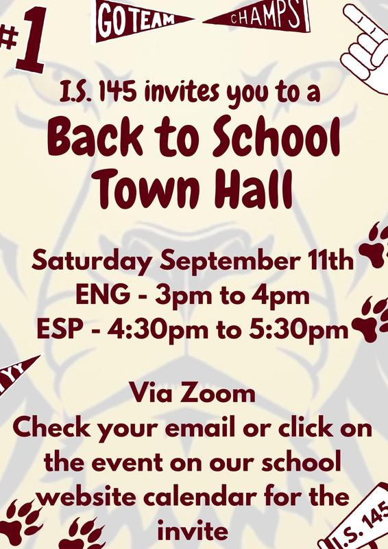 Flyer Information for Back to School
