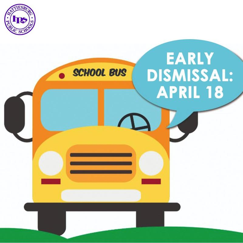 Early Dismissal for HPSD, April 18 Featured Photo