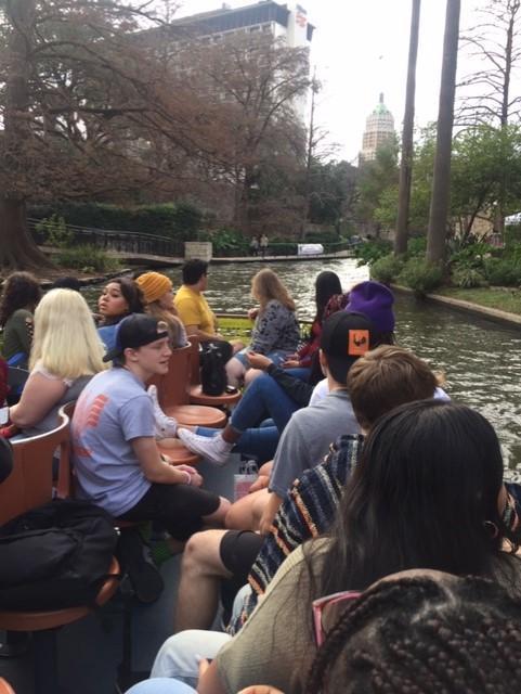 River boat tour