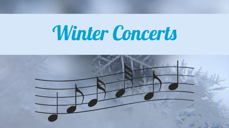 Winter Concerts poster