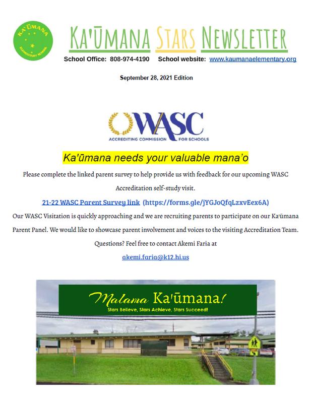 September 28 Newsletter