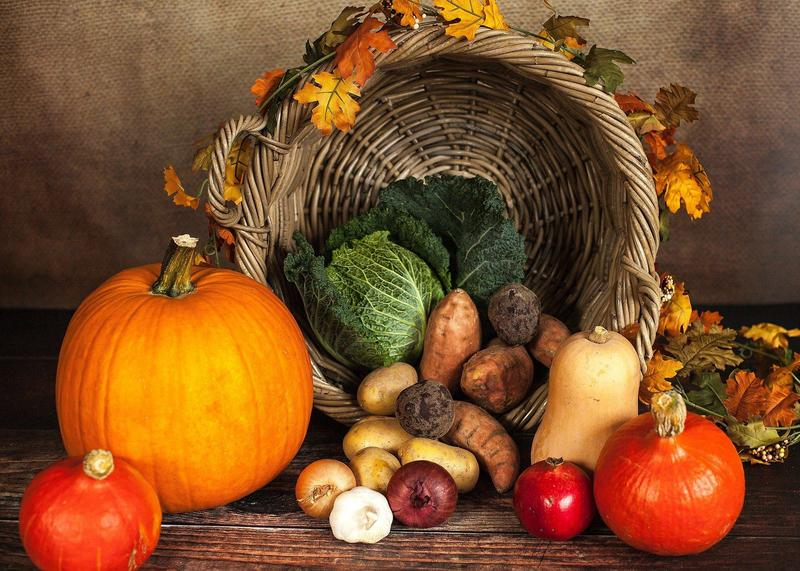 Image of Thanksgiving vegetables
