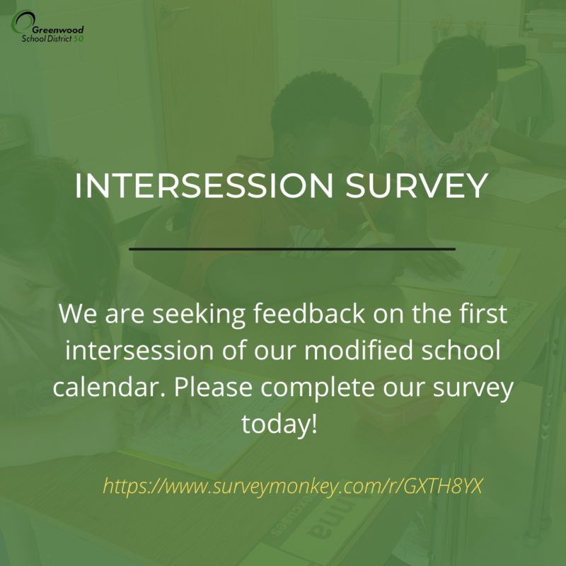 Intersession survey now available