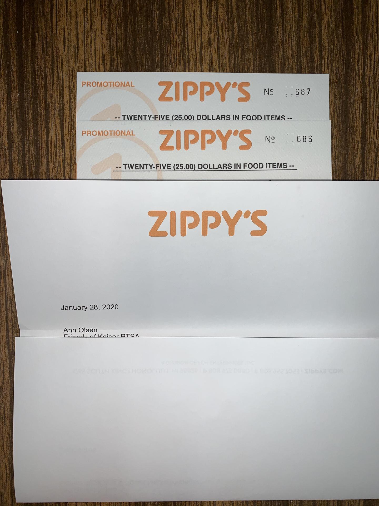 Zippys