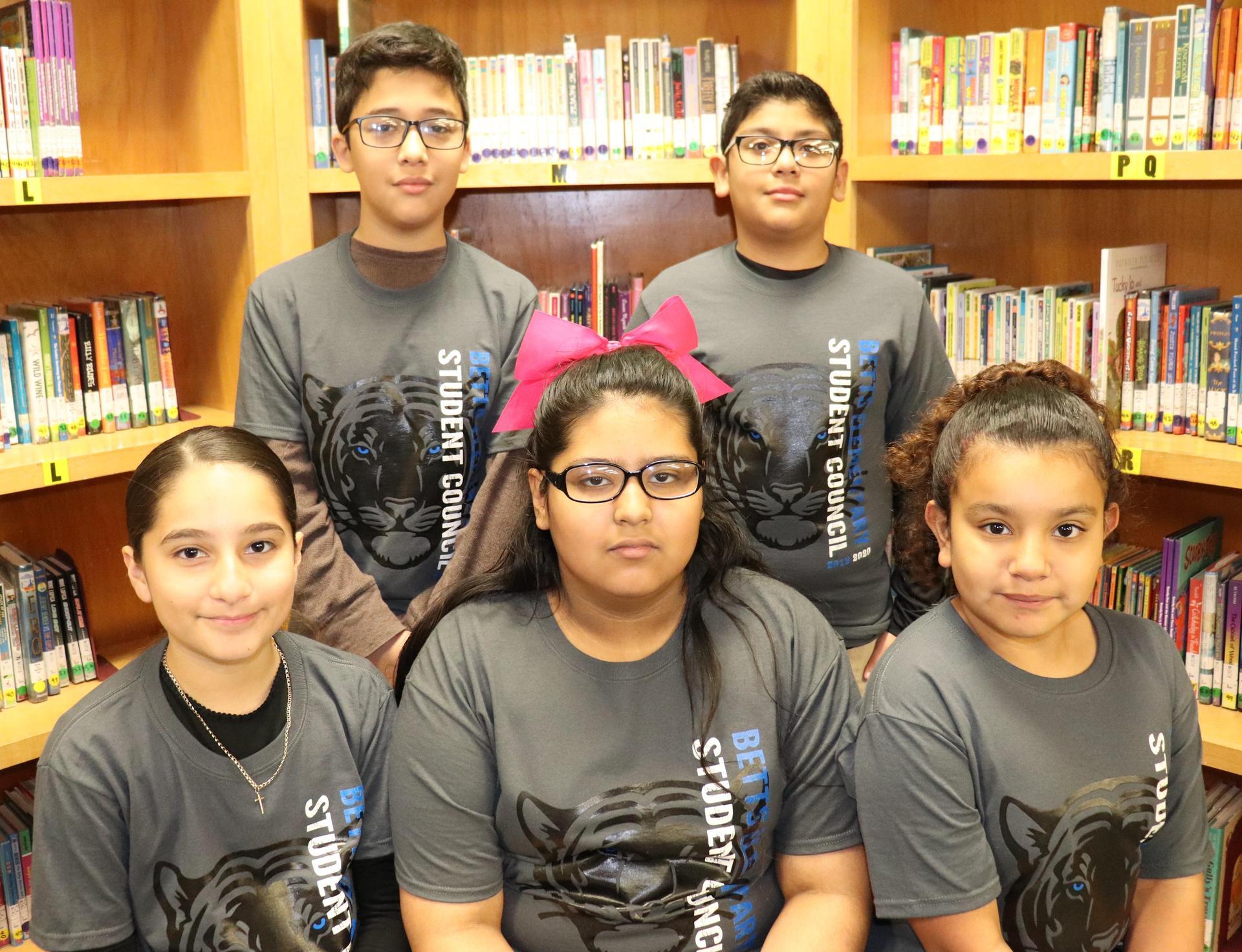 Image of 5th grade SC Reps