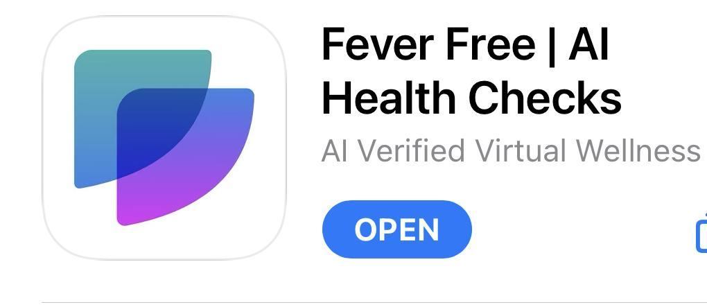 FeverFree App Image