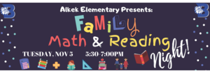 Math & Reading Night