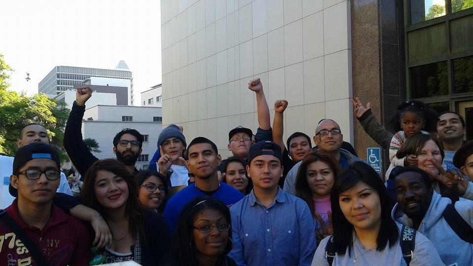 Boyle Heights student group photo