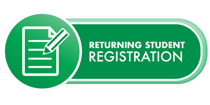 Returning Student registration Button