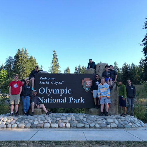 Jonah Lynn '24 creates compilation video of Hill Top's 2021 Summer Trip to Washington State Featured Photo