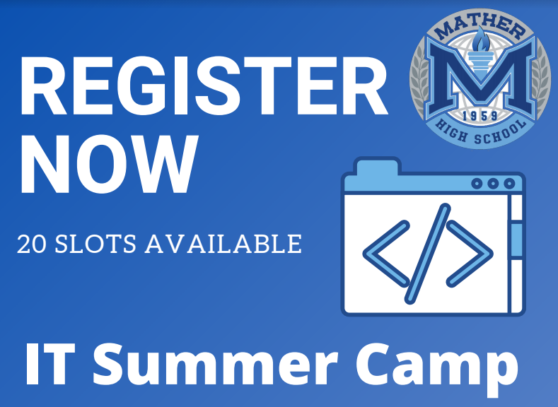 IT Summer Camp Sign-up Featured Photo