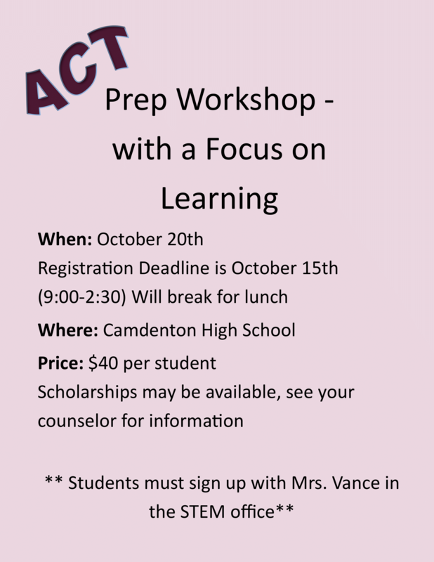 ACT Prep Workshop Featured Photo