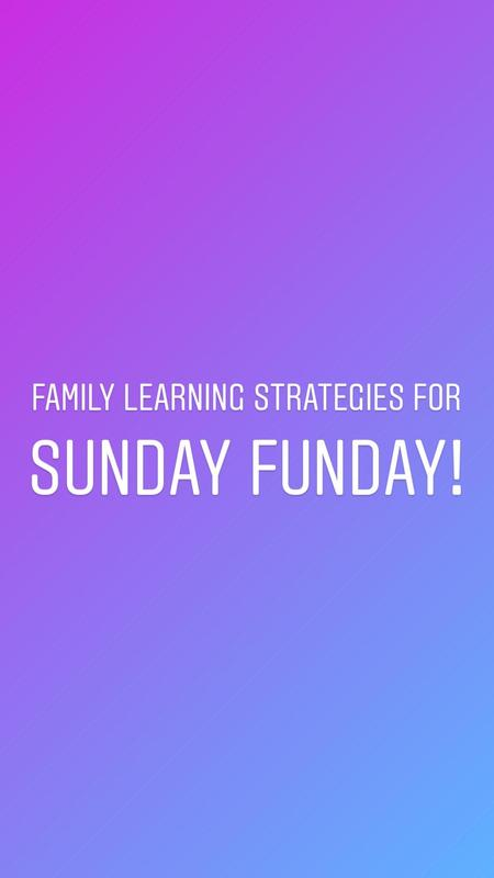 Family learning strategies